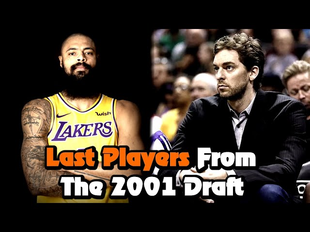 The Last 4 Players Standing From The 2001 NBA Draft