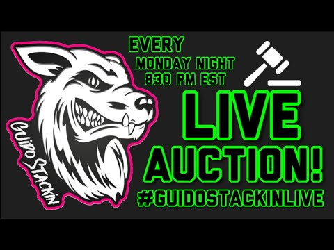 Guido Stackin LIVE SILVER AUCTION! #53