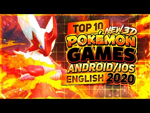 Top 10 New 3D Pokémon Games Android/iOS 2020 | English