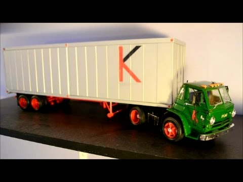 COMPLETED TRAILER FOR KINGSWAY DODGE L-700 TRUCK MODEL