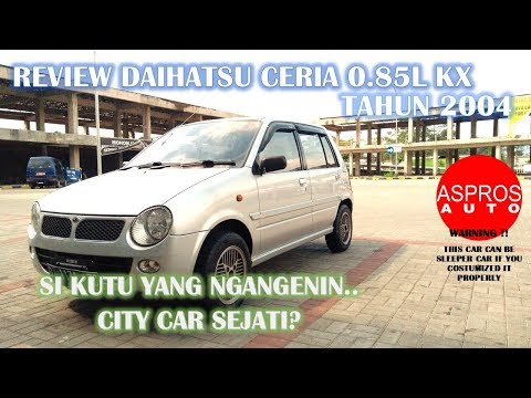 FLEA LOOKALIKE CAR REVIEW : DAIHATSU CERIA 0.85L KX YEAR 2004 By ASPROS AUTO