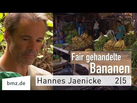 Fair Trade – Fairer Handel – 2/5 – Hannes Jaenicke in Peru am Bananengürtel