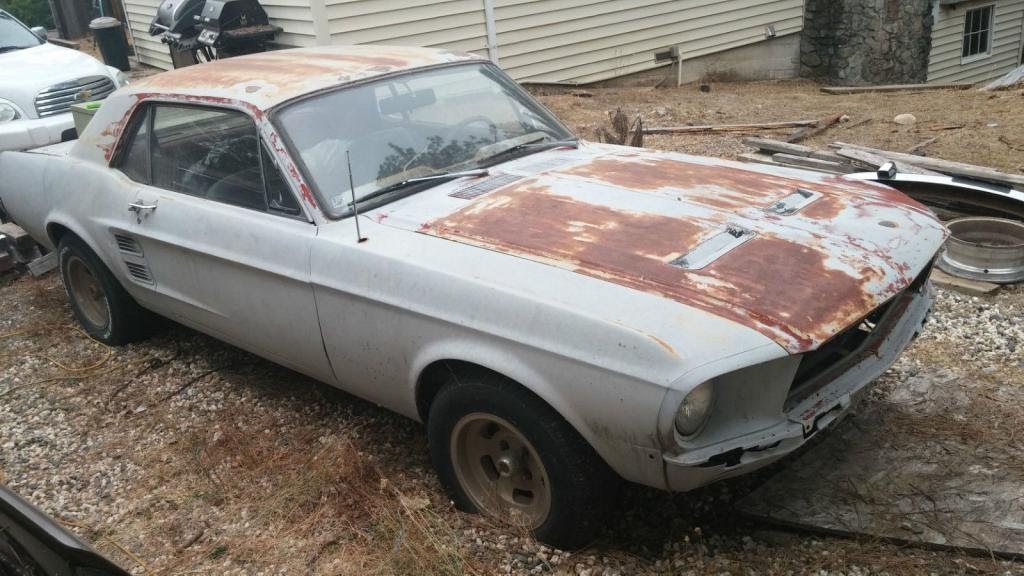 1967 Ford Mustang Coupe Salvage Youtube