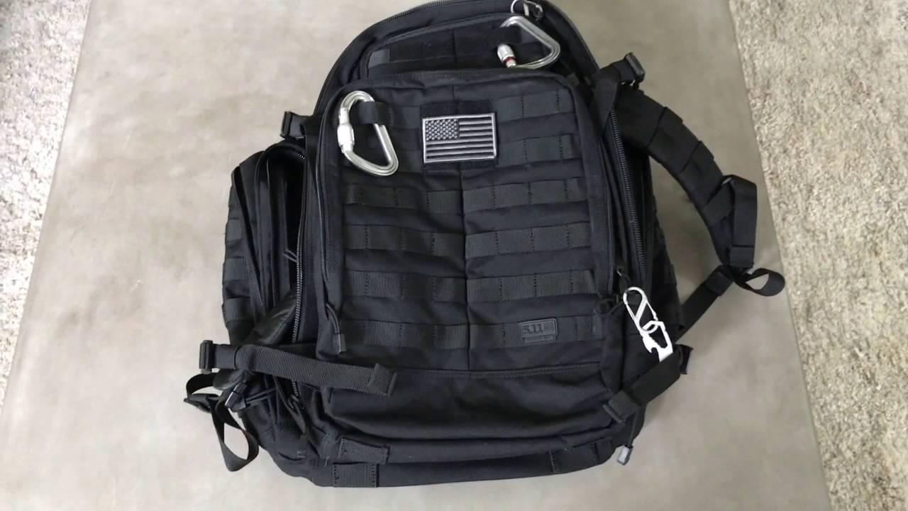 ed66ae0299f0 M.R.Q.P - 5.11 Tactical Rush 72 Vs. Rush 24 - YouTube