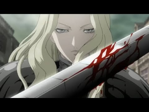 [60fps]claymore---teresa-vs-irene,-priscilla,-noel-and-sophia-full-sub