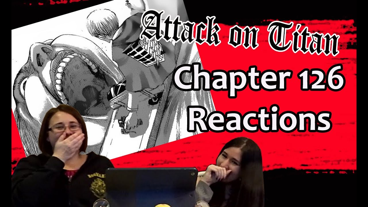 Download ATTACK ON TITAN - Chapter 126 REACTIONS