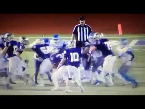 San Antonio football players target ref after a bad call