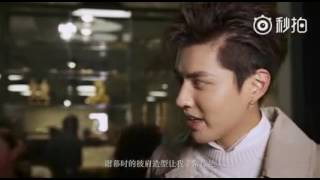 [Eng] Kris Wu on Interview at Burberry London Fashion Show