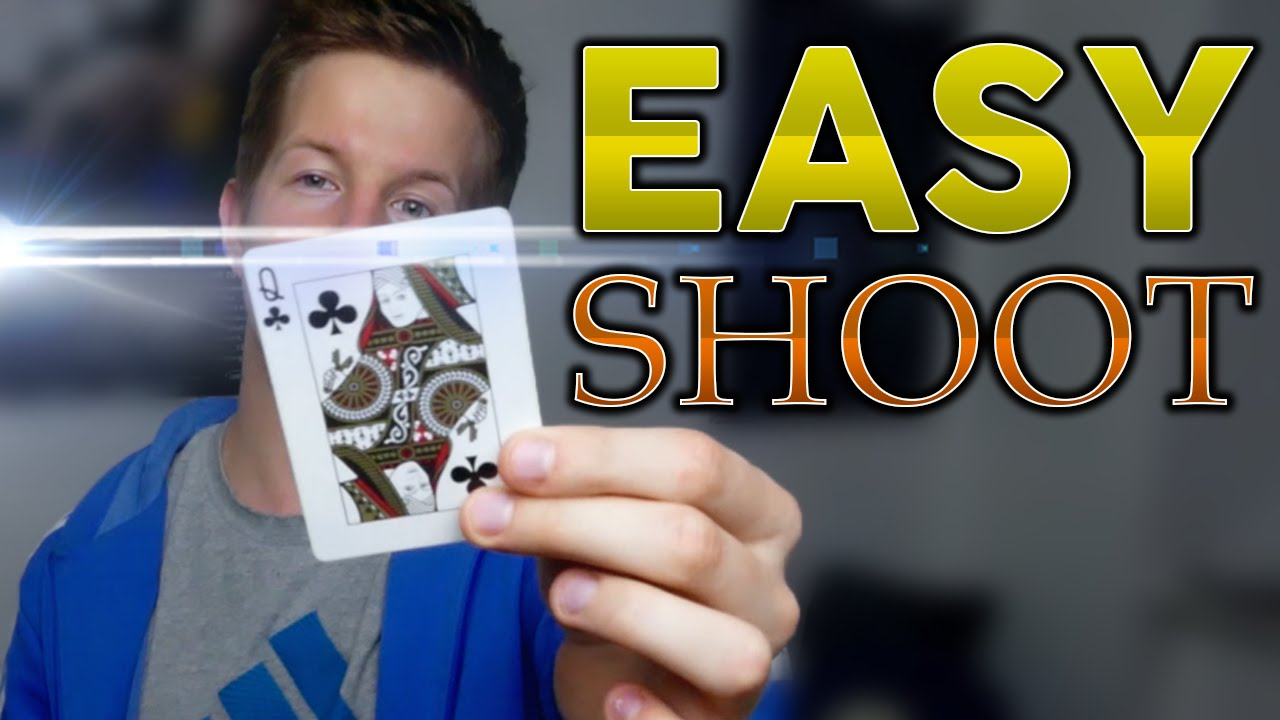 Shoot Cards LIKE A BOSS! - Tutorial - YouTube