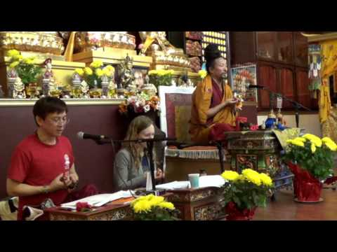 Drupon Rinchen Dorjee Rinpoche   20160213   The Ganges Mahamudra   Day 1   Trans  by Vanesa, Rocco