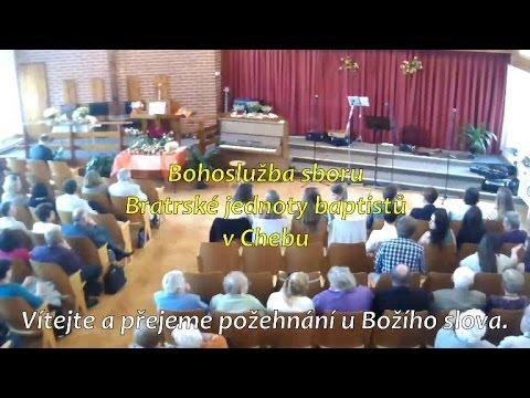 Bohoslužba BJB Cheb 21.5.2017 Od 9:00