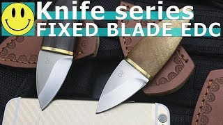 FIXED BLADE EDC KNIFE - for office and outdoor