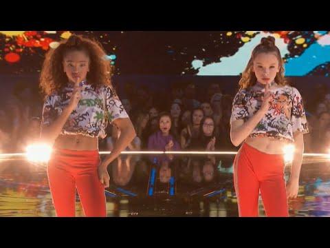 KynTay dance battle performance on world of dance nbc (Taylor Hatala ,Kyndall Harris)