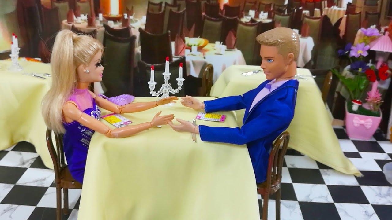 a985d4d92 لدي با ربي موعد رومانسي مع كين في المطعم - YouTube
