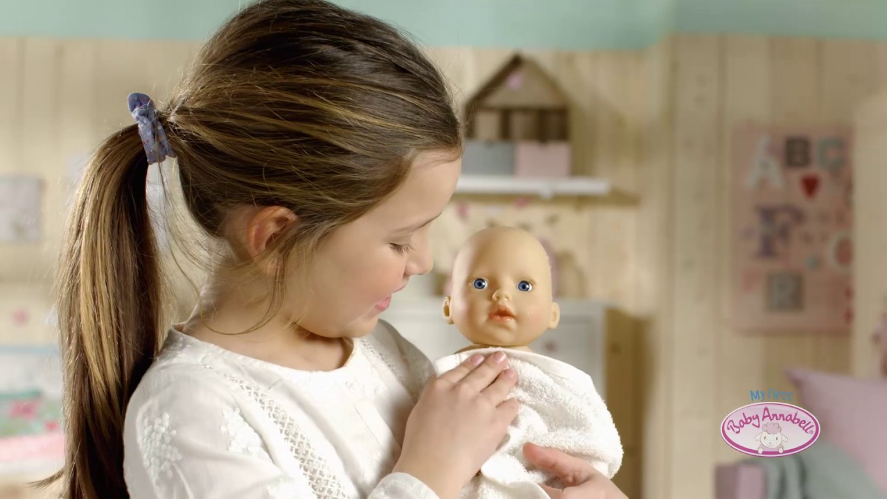 My first Baby Annabell Badepuppe - YouTube