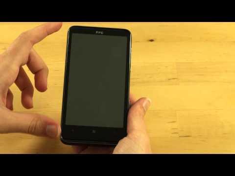 HTC HD7 Test Erster Eindruck