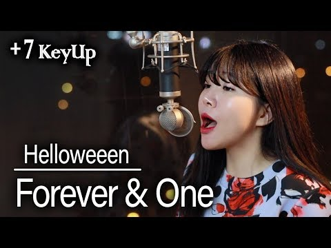 (+7 Key Up) Forever&one - Helloween Cover | Bubble Dia