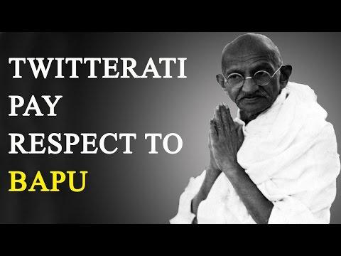 Mahatma Gandhi Death Anniversary: Twitterati pay respect to Gandhi    Oneindia News