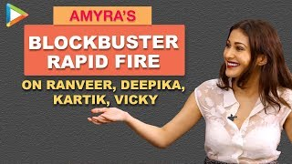 Kartik Aaryan Ya Vicky Kaushal? The BETTER actor according to Amyra is…| Rapid Fire | Made In China