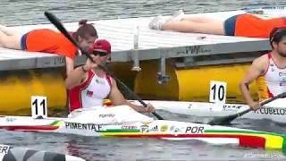 2018 ECA Canoe Sprint & Paracanoe European Championships - Sunday - 5000m Final