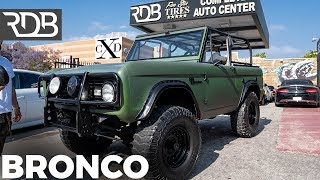 #RDBLA FORD BRONCO BROUGHT BACK TO LIFE, KHAKI RANGE ROVER, CLASSIC BENZ BLACKED OUT.