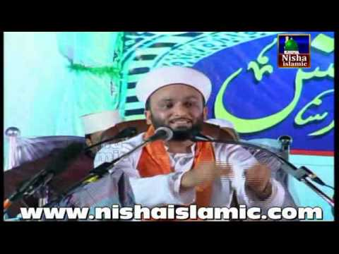Hazrat Allama Pir Muhammad Saqib Bin Iqbal Al Shaami in Hyderabad 2015 Chanchalguda Ground part 2