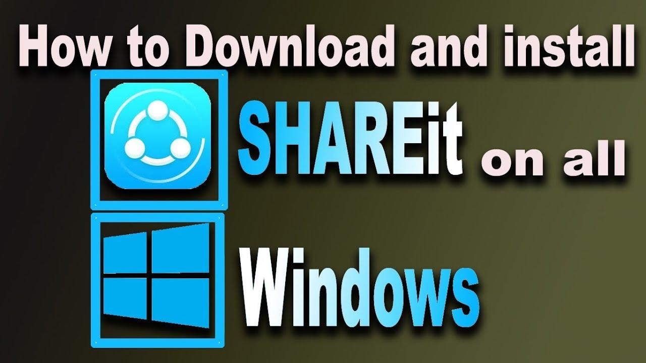 PC FOR SHAREIT TÉLÉCHARGER 4.0.4.152
