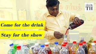 The man behind the popular Ashok Sarbath Kadai in Coimbatore