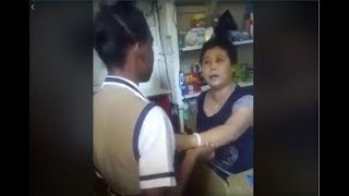 JAMAICAN 53 YRS OLD CHINESE SLAP A SCHOOLGIRL FACE FOR THEFT.