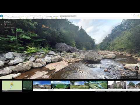 Google maps exploration West Virginia Appalachian region USA. West Virginia pictures & photo spheres