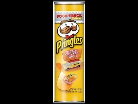 Pringles Food Truck Flavors Kickin Chicken Taco Youtube