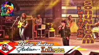 Phir Milenge CHALTE CHALTE ♥ Sonu Nigam & Sunidhi Chauhan Live In #Kolkata ● 2018