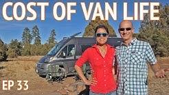 Cost of Living in a Van for 6 Months | EP 33 Camper Van Life