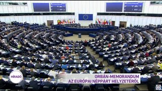 Orbán-memorandum az Európai Néppárt helyzetéről