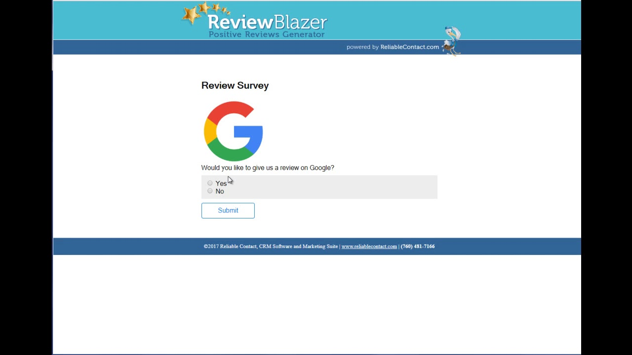 Review Blazer - Get Positive 5 Star Reviews on Yelp, Google or Facebook