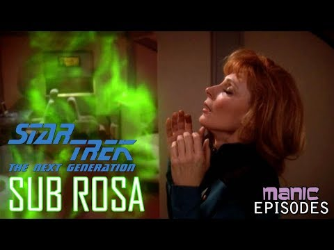 Sub Rosa: When Beverly Crusher Fell in Love with a Candle