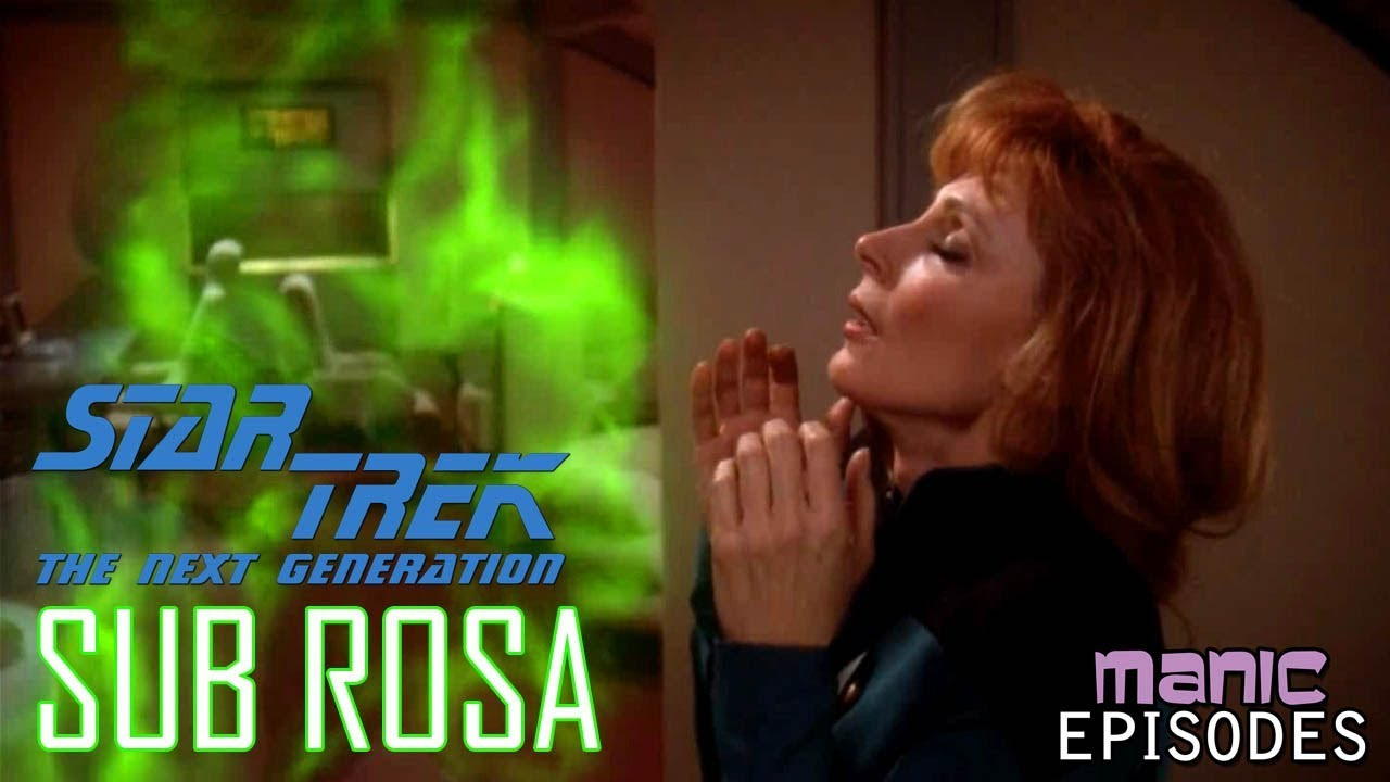 Sub Rosa: When Beverly Crusher Fell in Love with a Candle Ghost (Manic  Episodes)