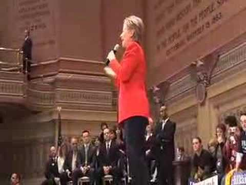 President Hillary Clinton in Pittsburgh on Green Energy