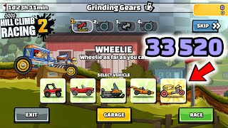 Hill Climb Racing 2 - 33520 points in GRINDING GEARS Team Event