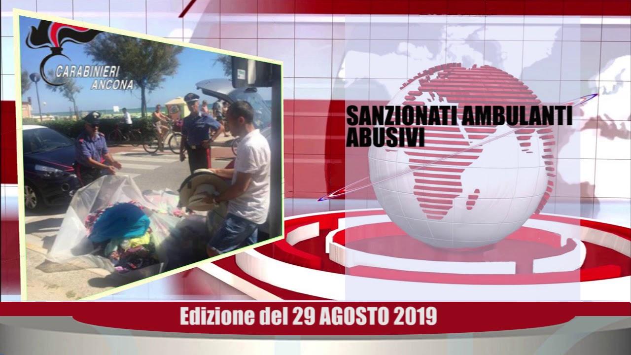 Velluto Senigallia Tg Web del 29 08 2019