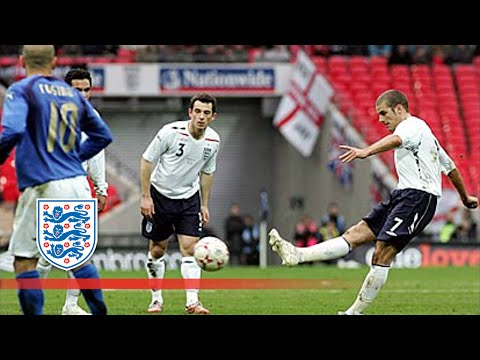 Bentley's superb strike v Italy   From The Archive