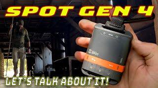 SPOT Gen 4 Satellite GPS Messenger