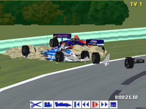 IndyCar Racing 2  Gearbox on the Road  YouTube