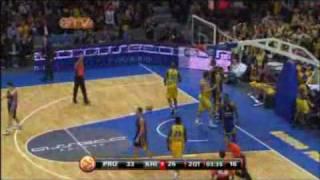 ユーロリーグ バスケットボール 第10戦 アセコ対BCヒムキ