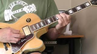 T-Bone Walker Guitar Lesson - Augmented Chord Lick  July 2015