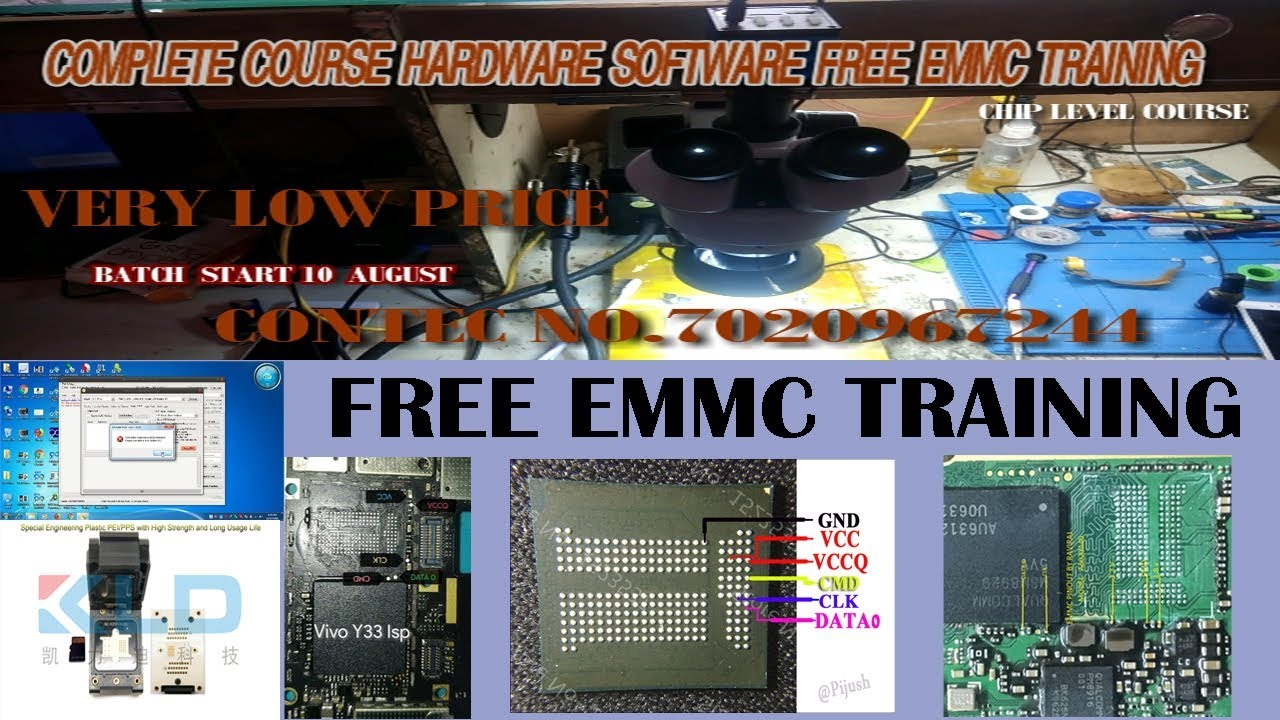 HARDWARE AND SOFTWARE COURSE EMMC TRAINING FREE CHIP LEVEL / SAMSUNG TOUCH  NOT WORKING AFTER UPDATE
