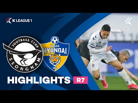 Seongnam Ulsan Hyundai Goals And Highlights