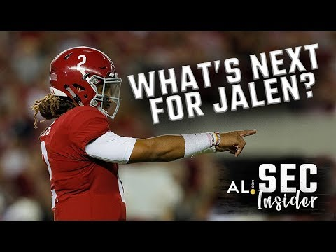 SEC Insider: What's next for Jalen Hurts?