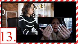 WORK DAY & NEW NAILS || EJB VLOGMAS DAY THIRTEEN