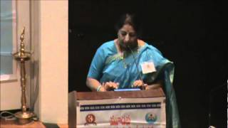 Uma Pochampalli - 3rd International Telugu Literary Conference Houston TX March 10-11th 2012.wmv